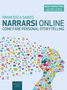 Narrarsi online: copertina libro Francesca Sanzo