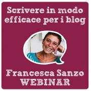 webinar Francesca Sanzo