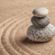 sassi zen, simbolo di semplicità