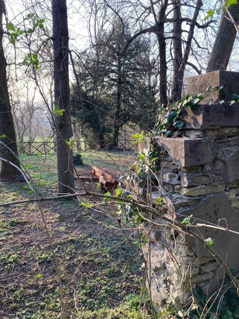 sentiero verso romitorio parco della chiusa casalecchio bologna