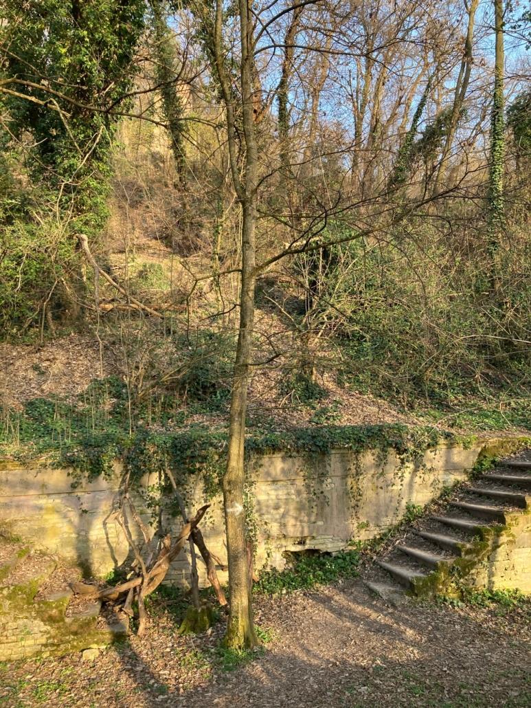 scale accesso sentiero romitorio, variante dei bregoli