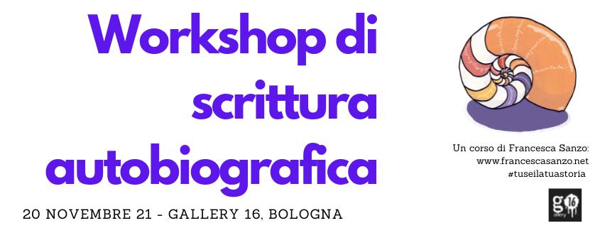 workshop scrittura autobiografica
